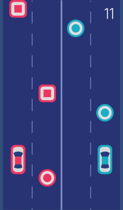 2 Cars - Free To Play on The Little Game Factory - Screenshot 2
