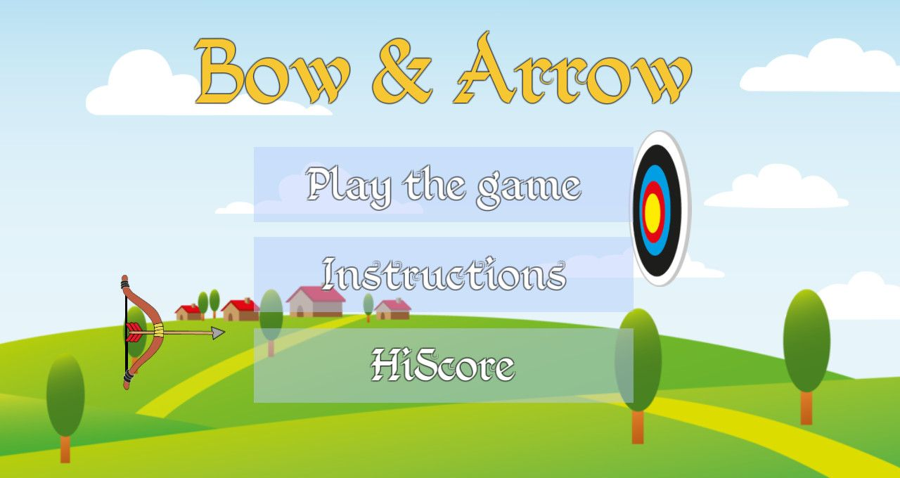 Bow & Arrow - Free To Play on The Little Game Factory - Screenshot 1