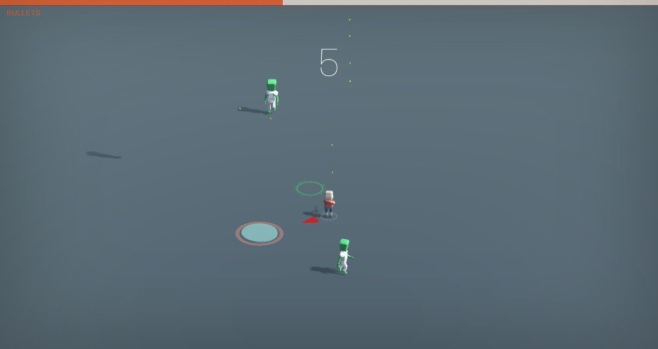 Don't Shoot Aliens- Free To Play on The Little Game Factory - Screenshot 2