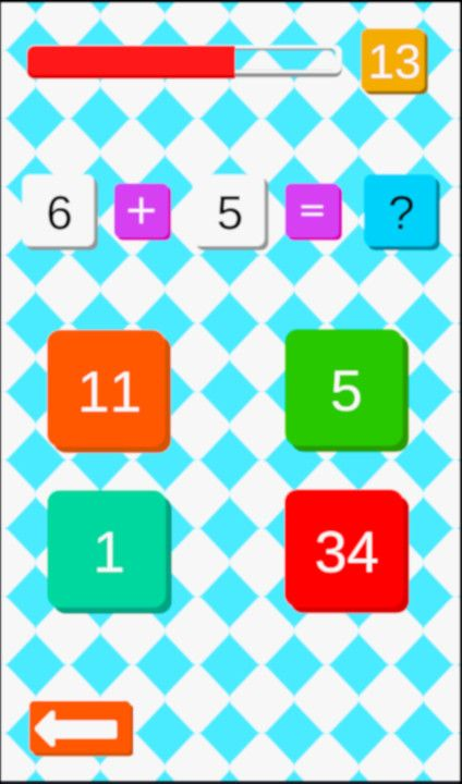 Maths Challenge - Free To Play on The Little Game Factory - Screenshot 2