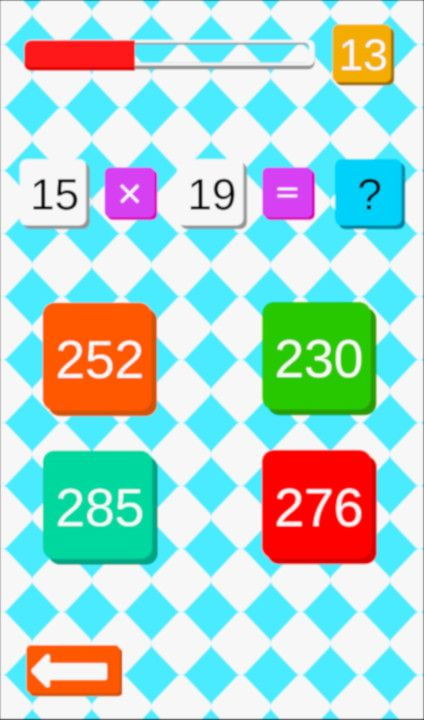 Maths Challenge - Free To Play on The Little Game Factory - Screenshot 3