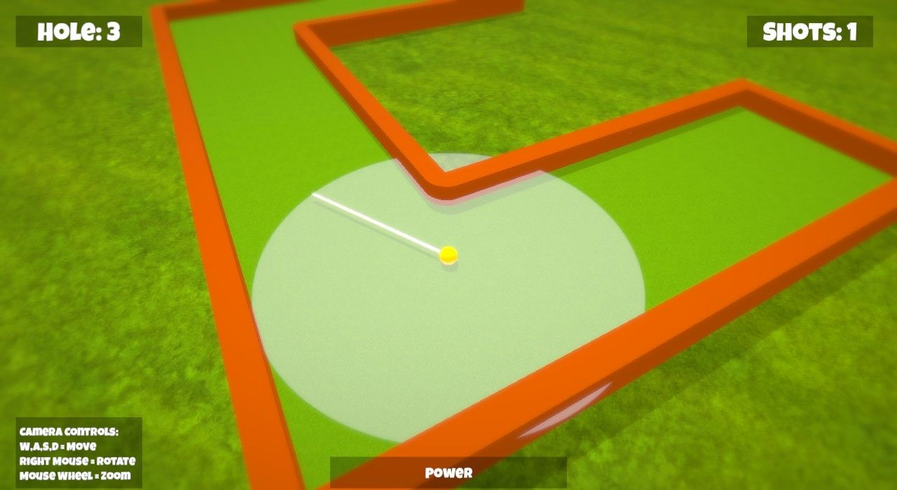 Mini Minigolf - Free to Play on The Little Game Factory - Screenshot 2