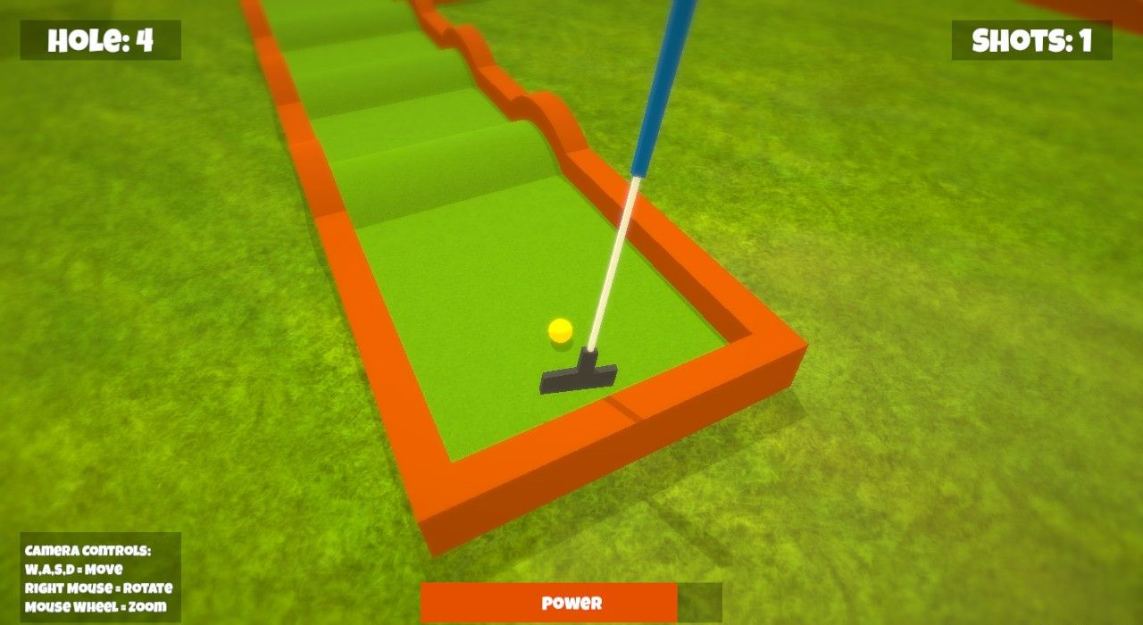 Mini Minigolf - Free to Play on The Little Game Factory - Screenshot 3