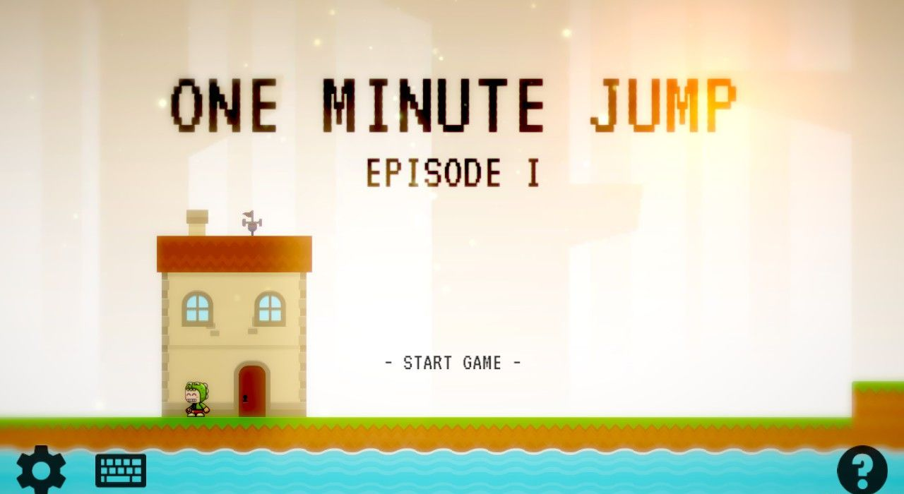 One Minute Jump - Free to Play on The Little Game Factory - Screenshot 1