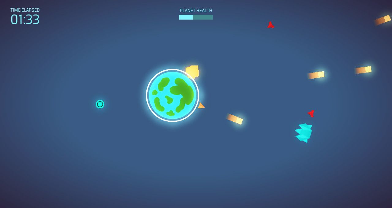 Planetary Defense - Free To Play on The Little Game Factory - Screenshot 2